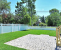 Rear Yard with Paver Patio