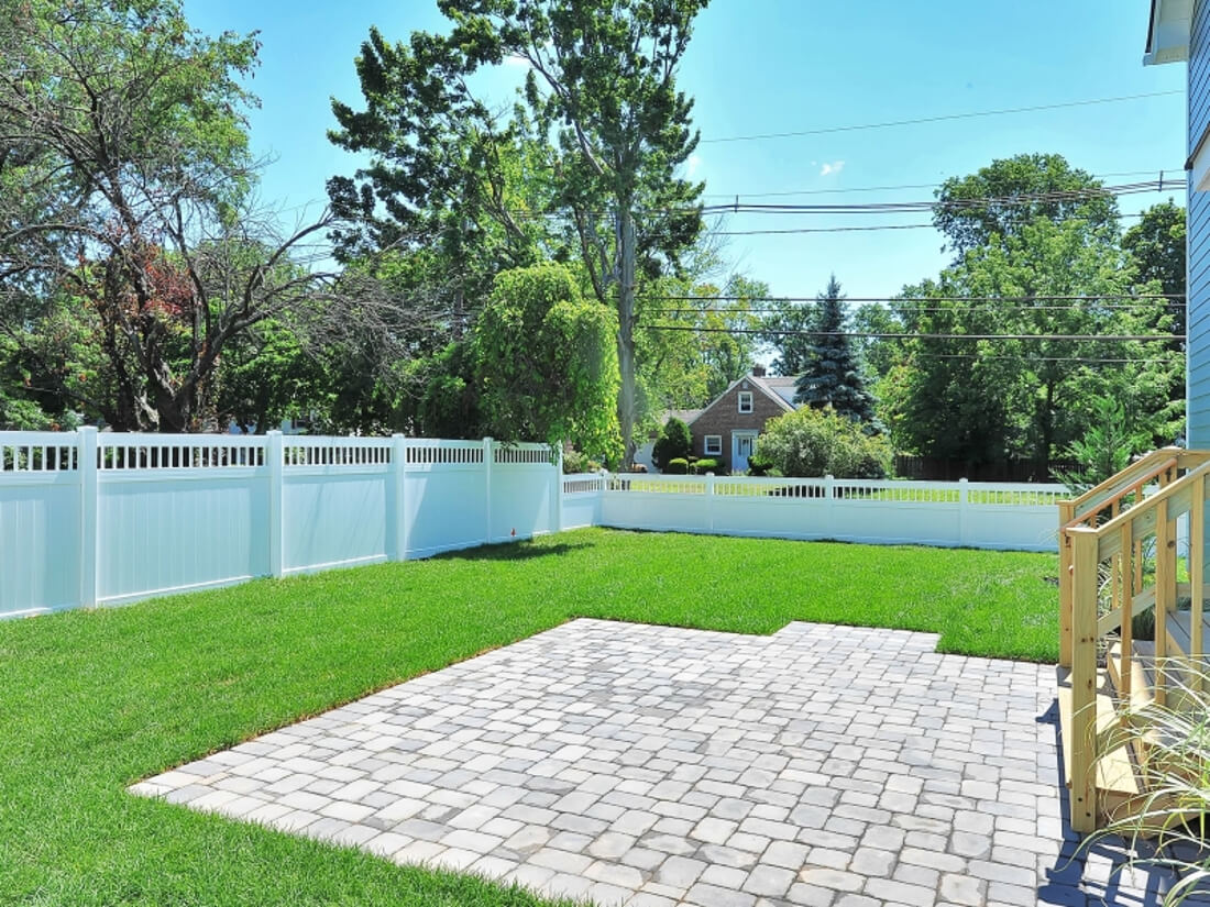 110 Back Yard with Patio