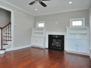 Family Room with Builtins - 110 N. Florence Avenue, Westfield