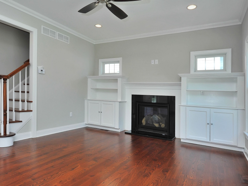 110 Family Room with Builtins II