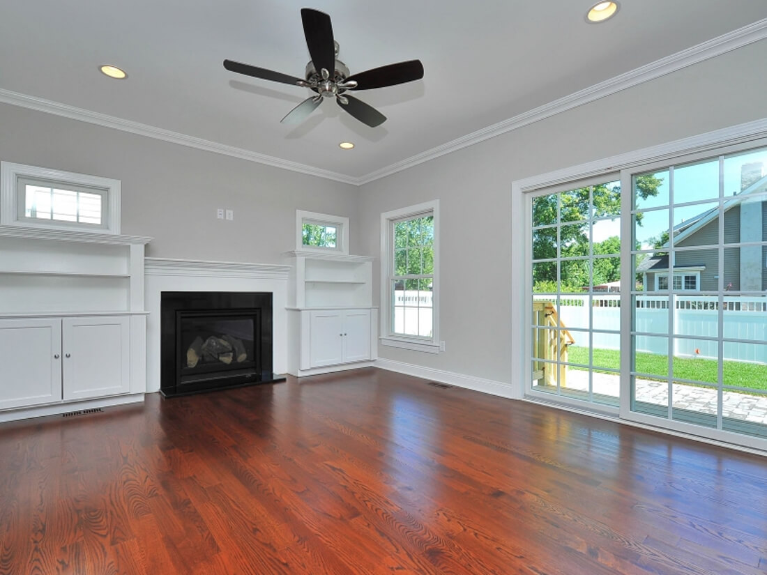 110 Family Room with Builtins