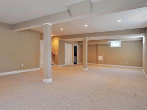 Finished Basement Custom Home