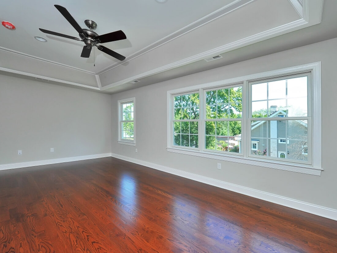 110 Master Bedroom with Trey Light Ceiling II