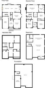 Floor Plan - 110 N. Florence Avenue, Westfield