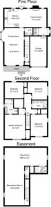 Floor Plan- 112 N. Florence Ave.