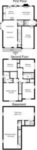 Floor Plan- 112 N. Florence Ave.