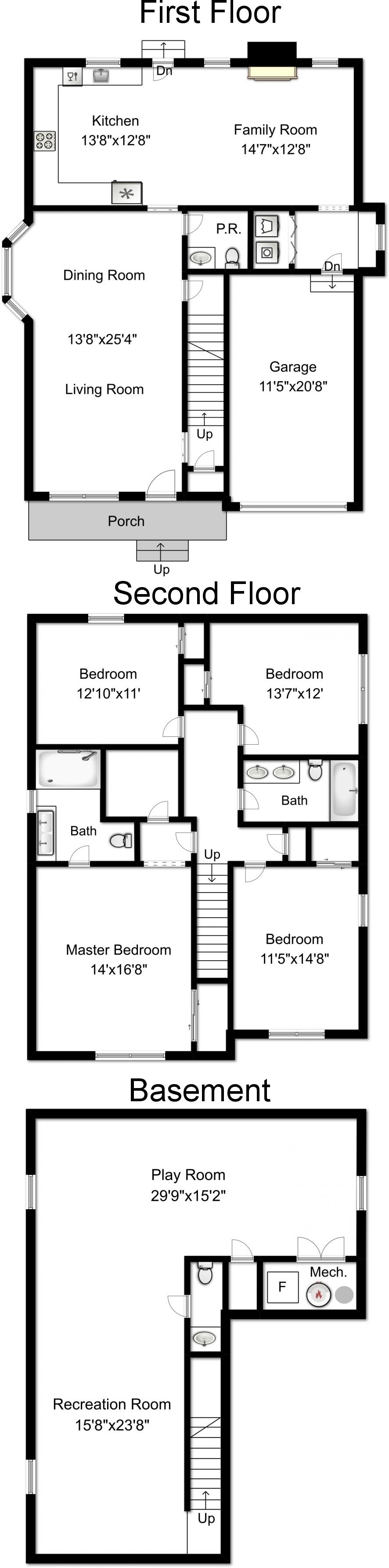 112 N. Florence Floor Plan