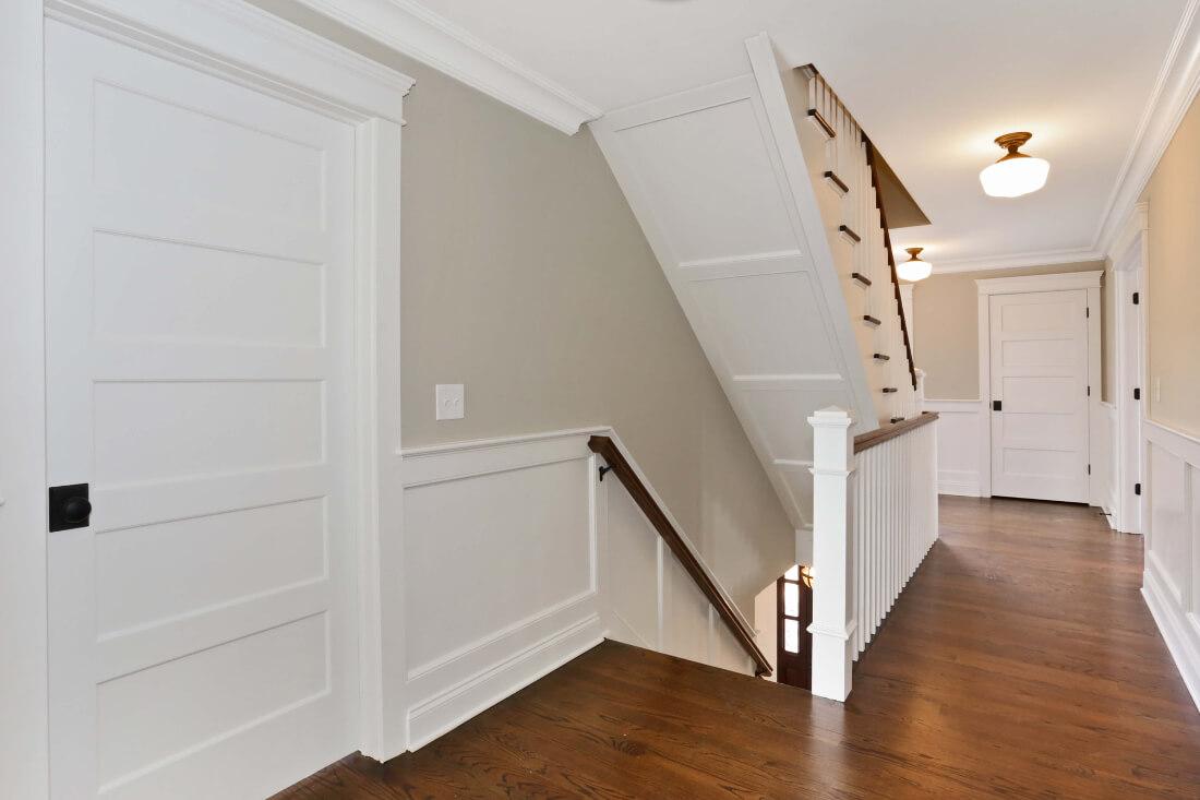 129 Brightwood 2nd Floor Hallway