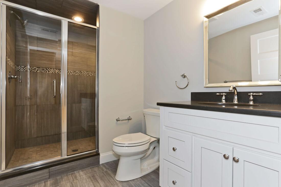 129 Brightwood Basement Bathroom