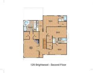 2nd Floor Color- 129 Brightwood Ave.