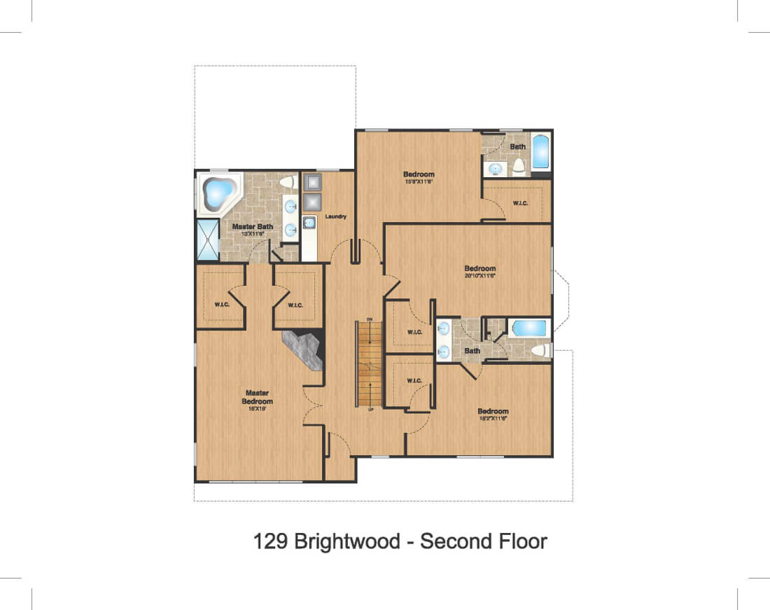129 Brightwood 2nd Floor Color