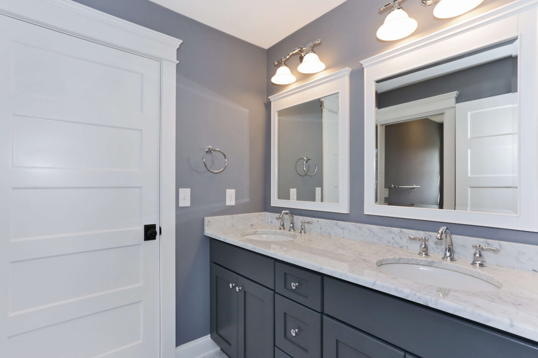 129 Brightwood Jack and Jill Bathroom