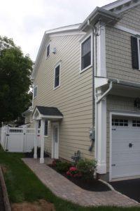 Left Side Elevation- 129 Brightwood Ave.