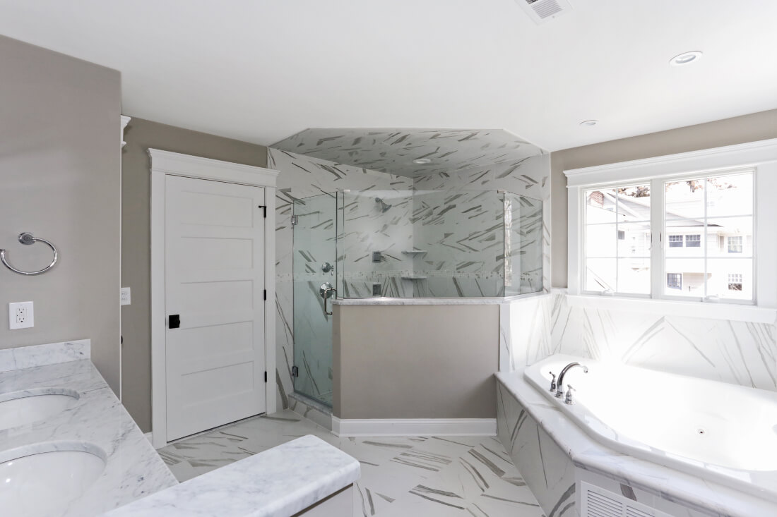 129 Brightwood Master Bathroom
