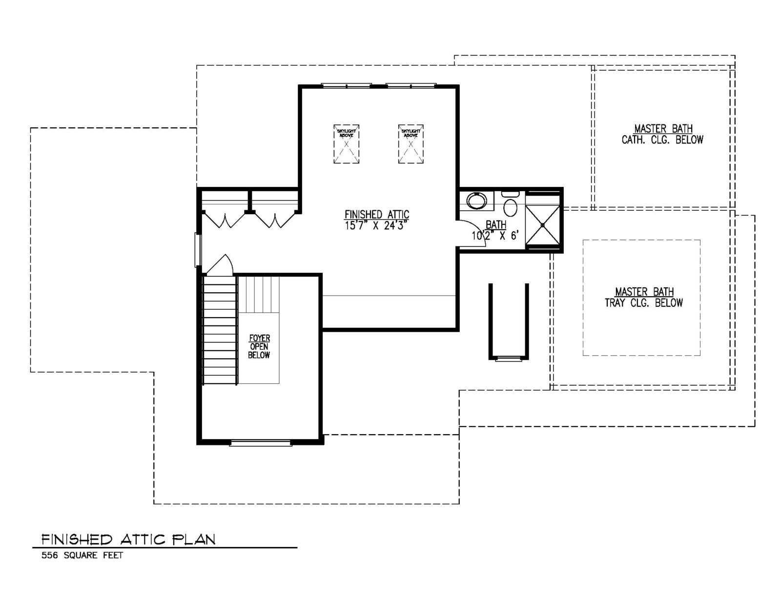 131-Barchester-Finished-Attic-Plan