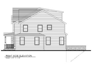 131 Barchester Way, Westfield - Right Elevation