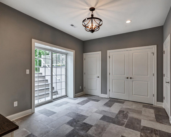Basement Mudroom