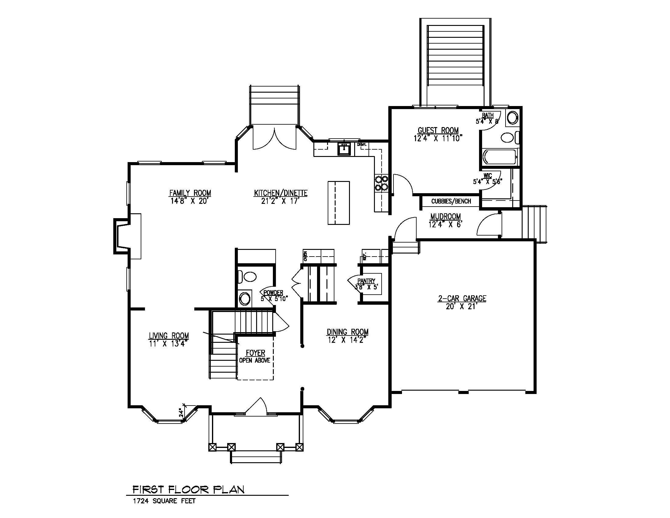 14 Wychview 1st Floor Plan