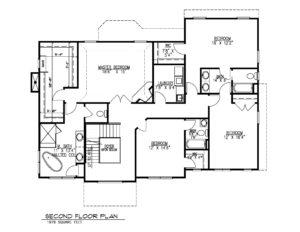 14 Wychview Drive, Westfield- 2nd Floor Plan