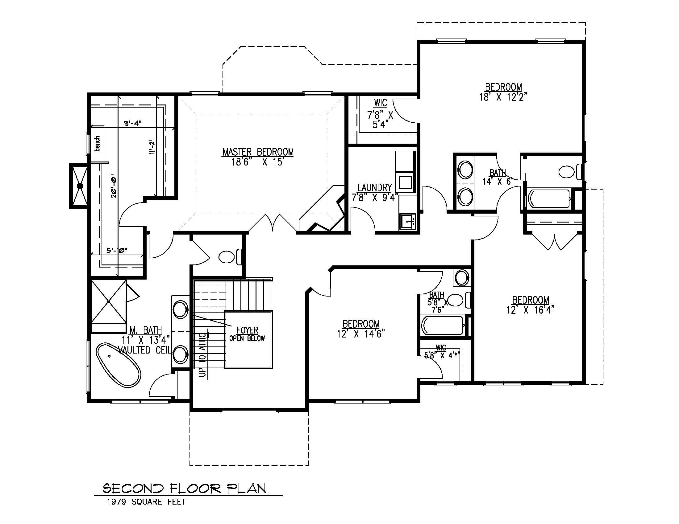 14 Wychview 2nd Floor Plan