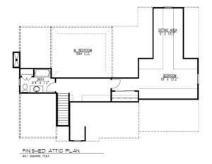 14 Wychview Drive, Westfield- Attic Floor Plan