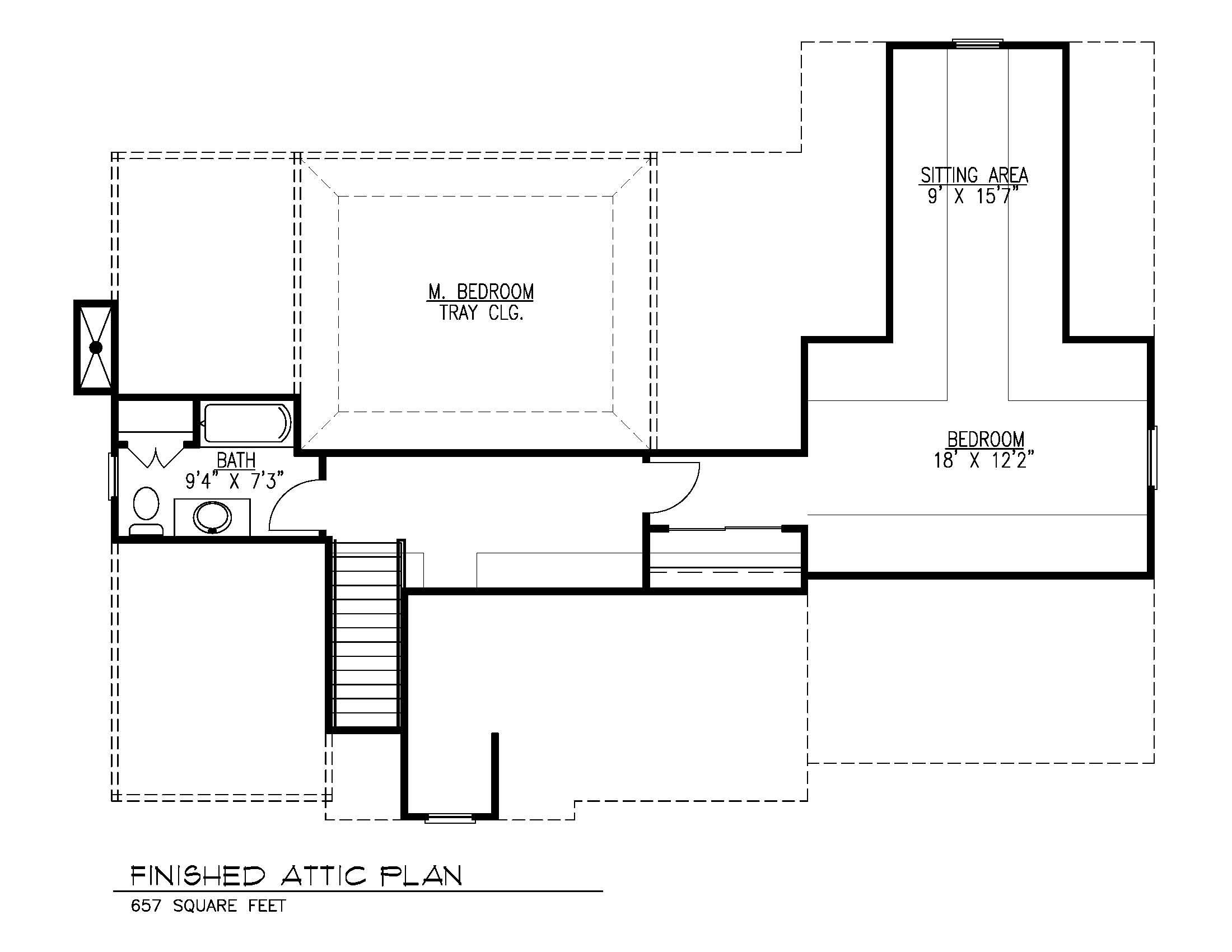 14 Wychview Attic Floor Plan