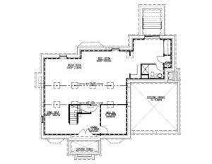 14 Wychview Drive, Westfield- Basement Floor Plan