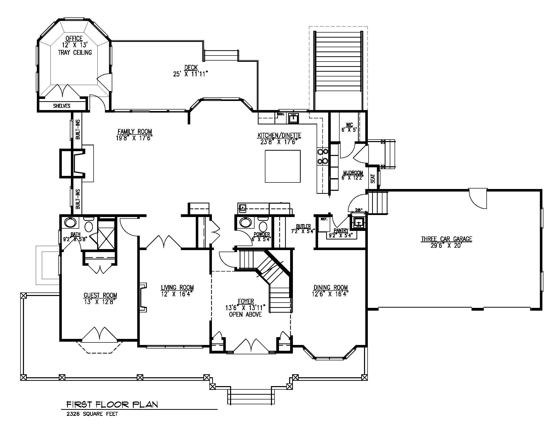 20 Barchester 1st Floor Plan