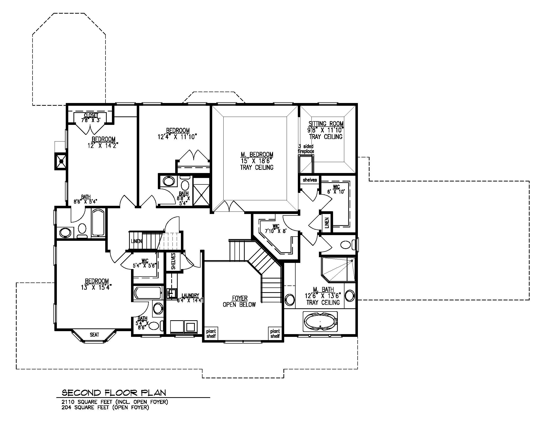 20 Barchester 2nd Floor Plan