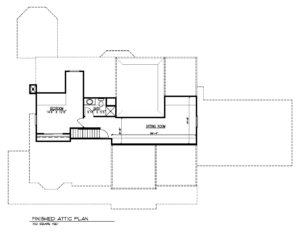 20 Barchester Way, Westfield- Attic Plan