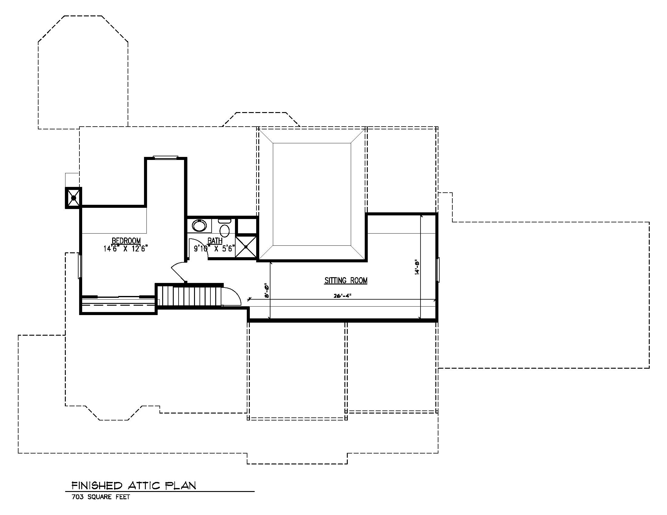 20 Barchester Attic Plan