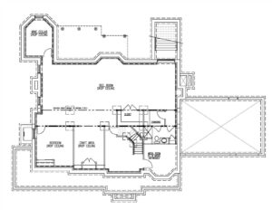 20 Barchester Basement Floor Plan