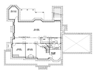 20 Barchester Way, Westfield- Basement Plan