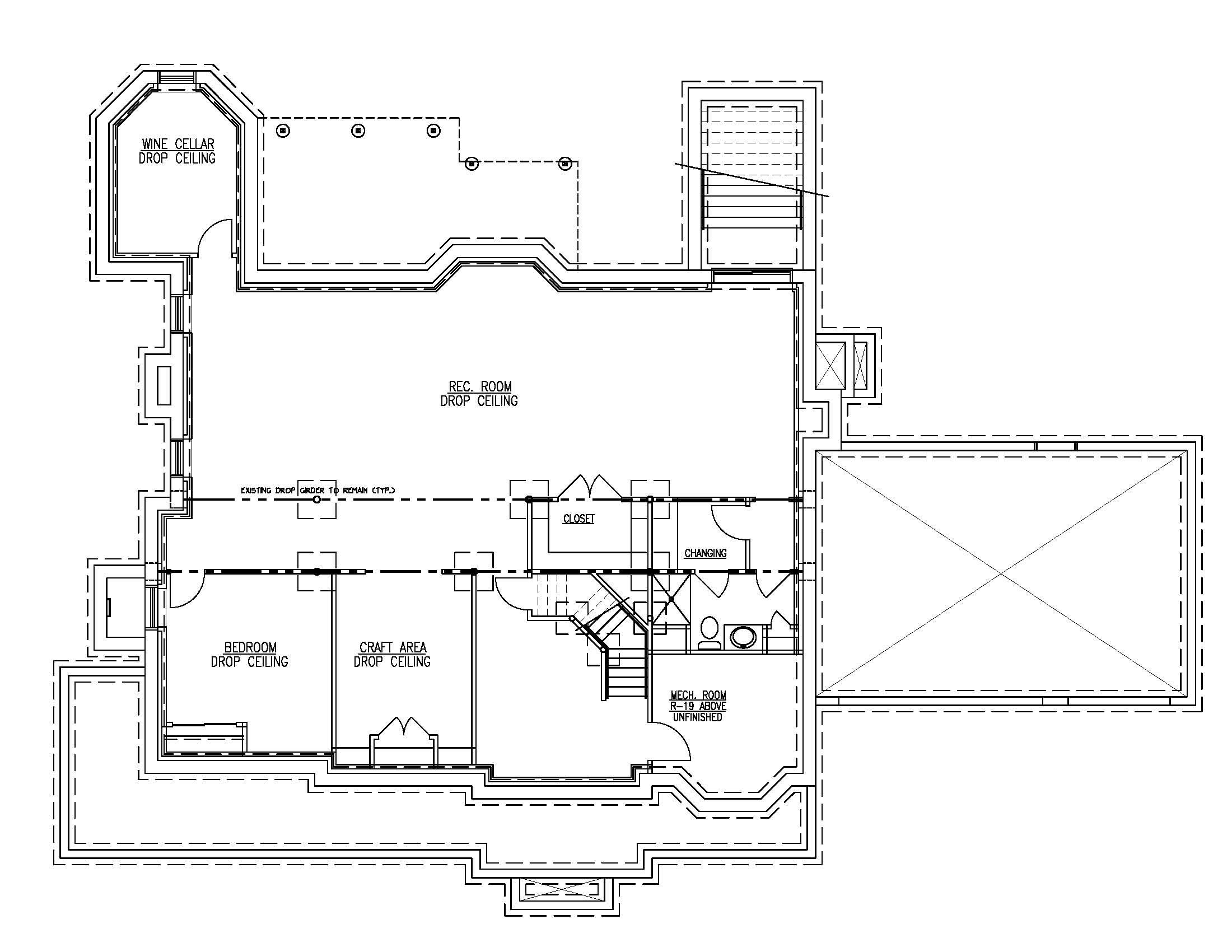 20 Barchester Basement Plan