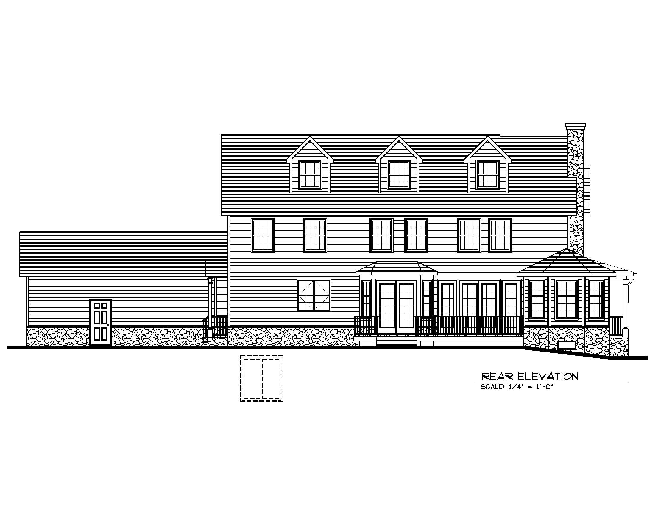 20 Barchester Rear Elevation