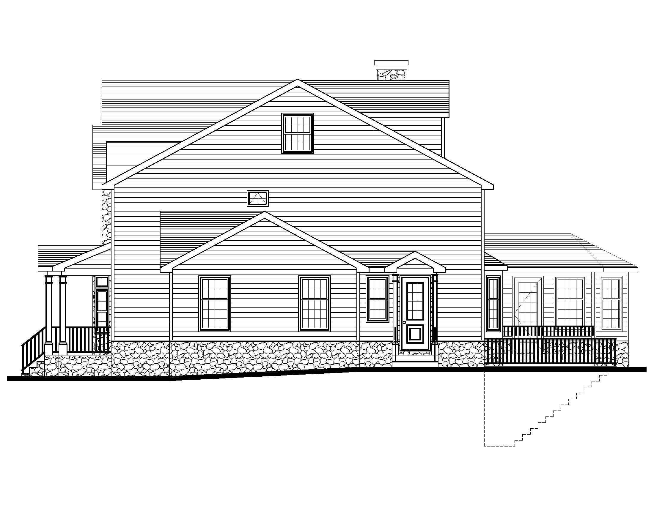 20 Barchester Right Side Elevation