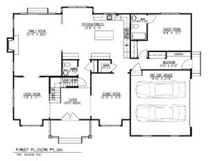 221 Golf Edge, Westfield- 1st Floor Plan