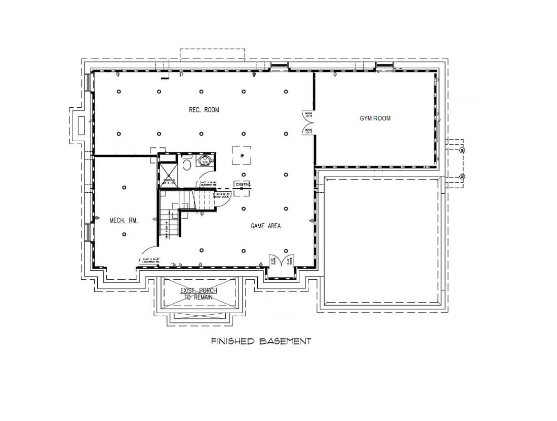 221 Golf Edge Basement Floor Plan