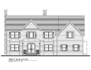 221 Golf Edge, Westfield- Front Elevation