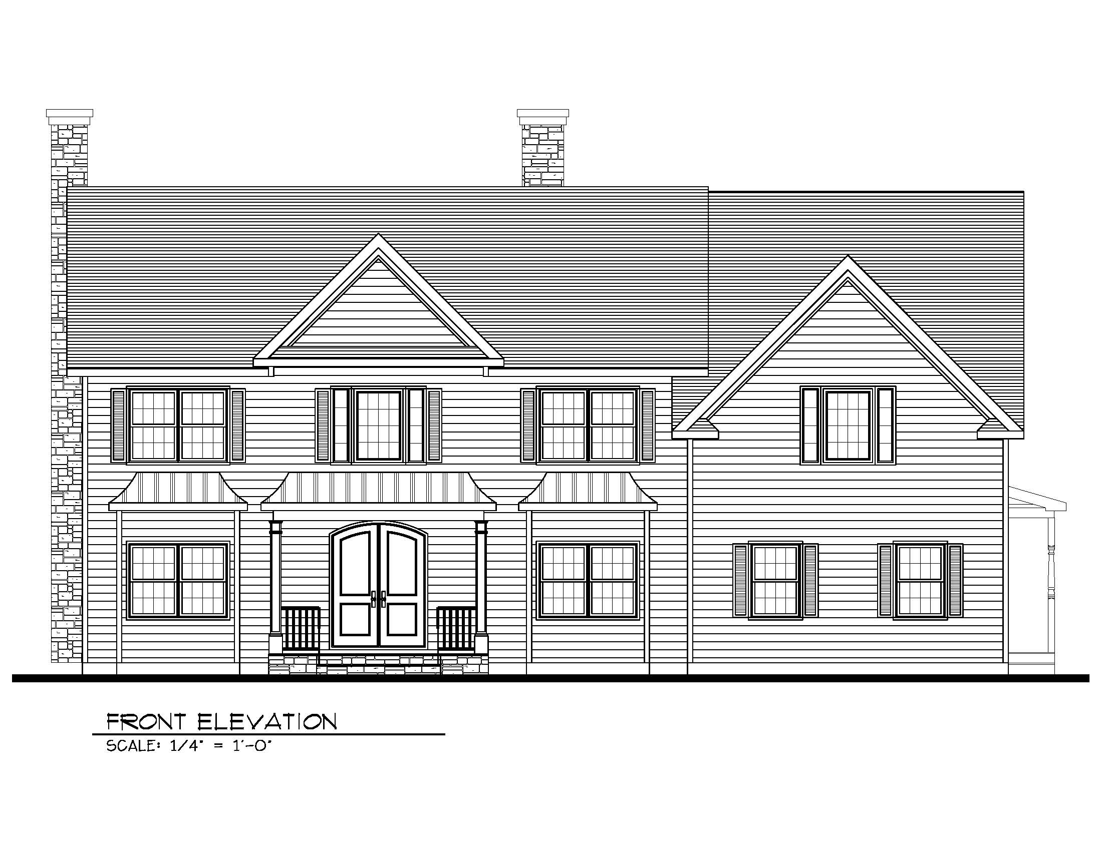 221 Golf Front Elevation