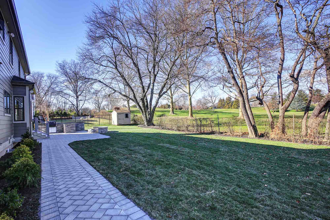 221 Golf Edge Rear Yard