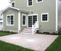 Rear Paver Patio