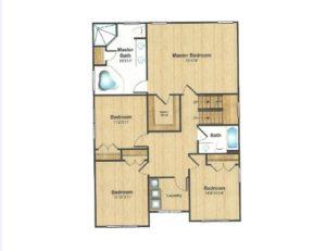 309 Belmar Place, Westfield- Floor Plan 2nd Floor