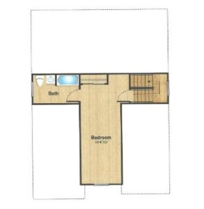 309 Belmar Place, Westfield- Floor Plan Attic