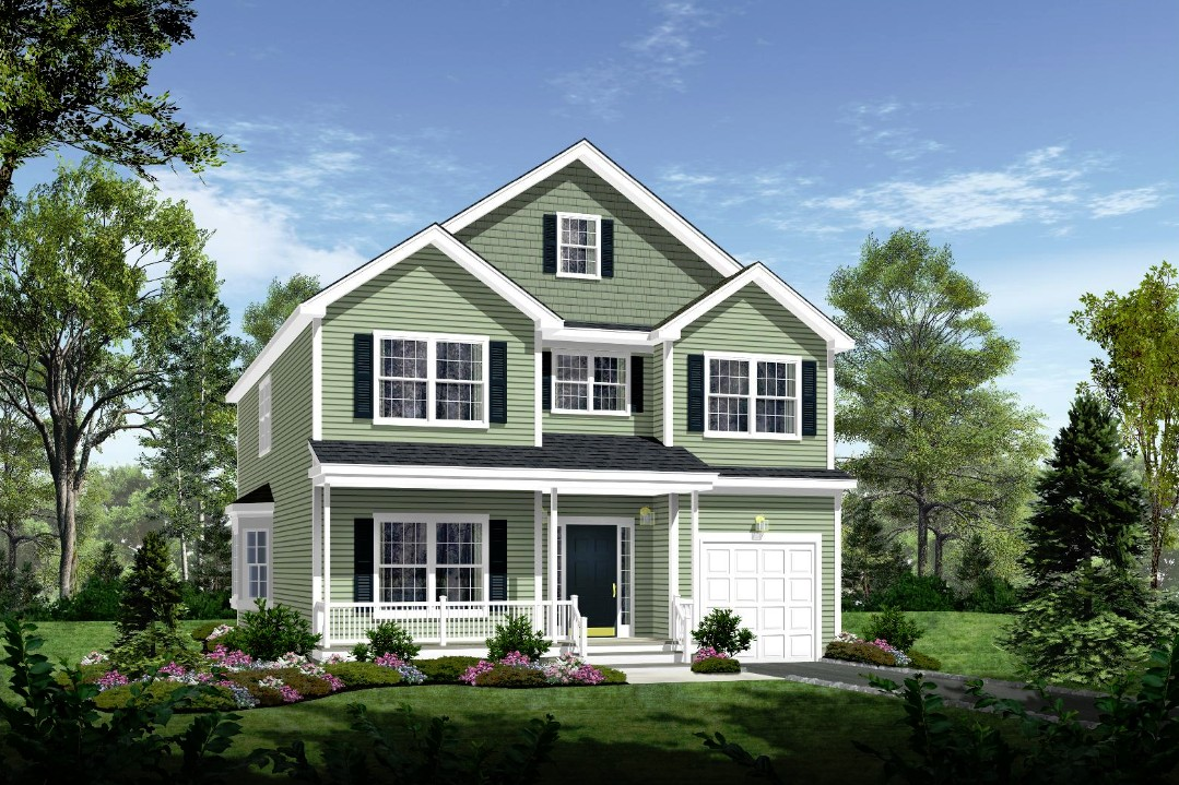 309 Front Elevation Rendering