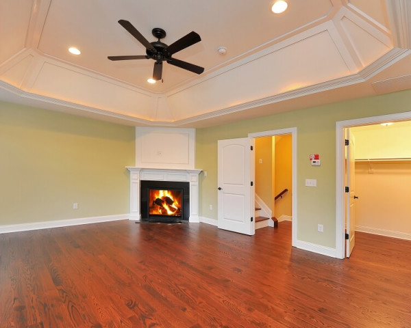 Master Bedroom II with Fireplace