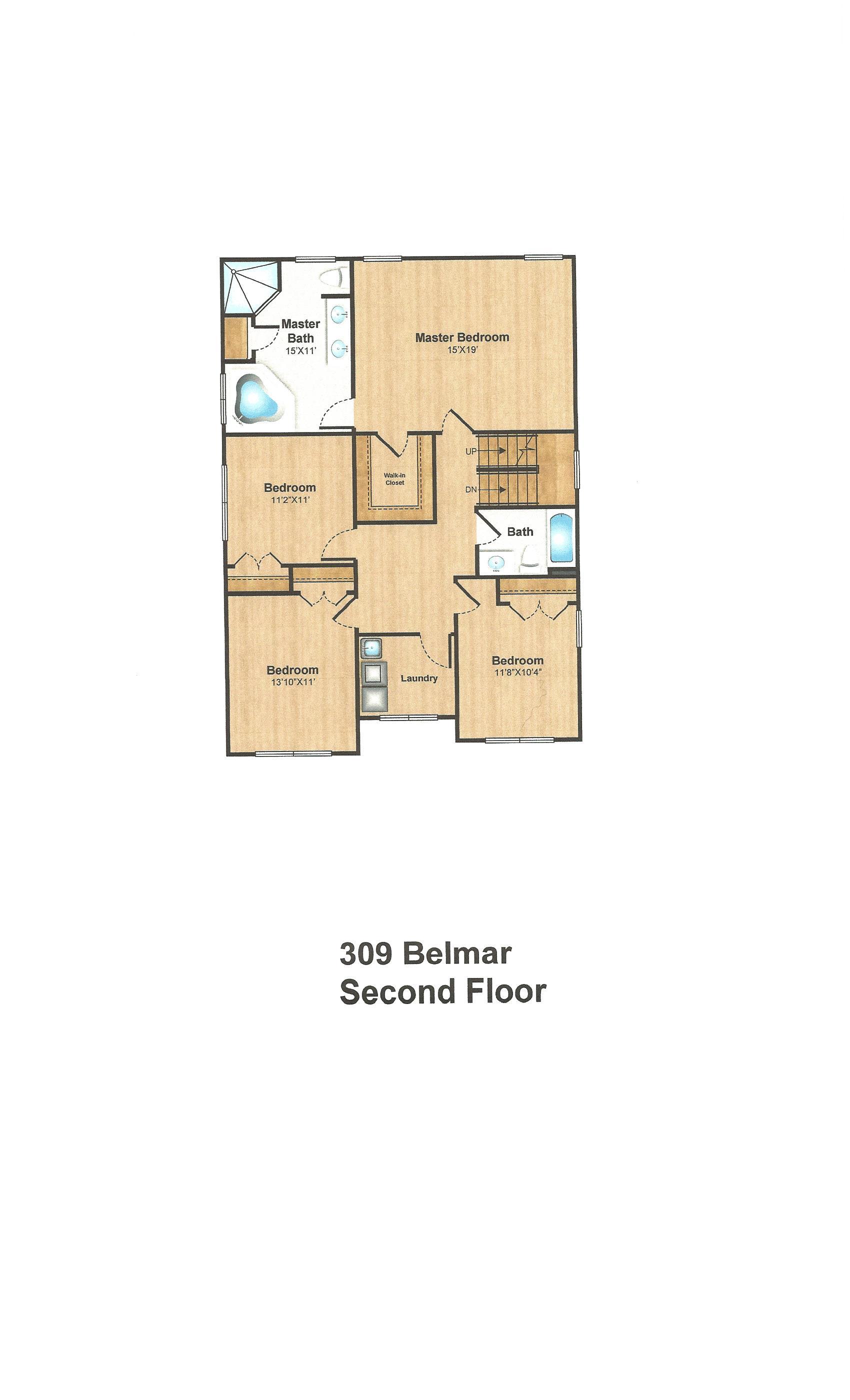 309 belmar second floor