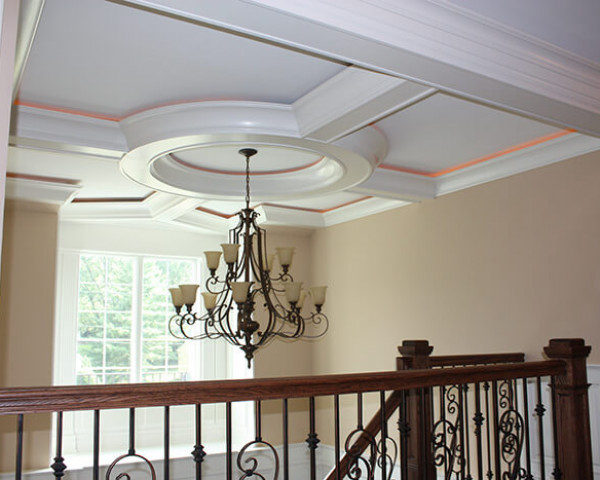 Foyer with Lit Ceiling II