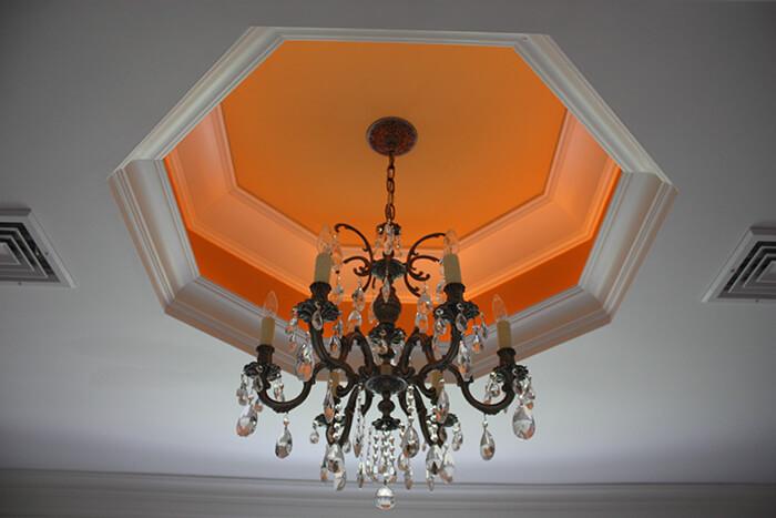405 Quantuck Master Bathroom Ceiling
