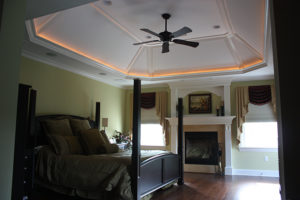 405 Quantuck Lane, Westfield- Master Bedroom with Fireplace